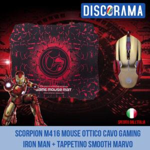 Mouse Marvo Iron Man